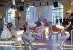 danseuse dans une bulle